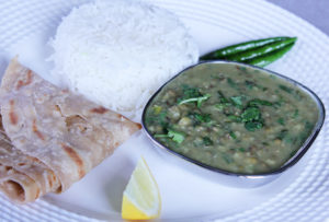 whole mung bean dal