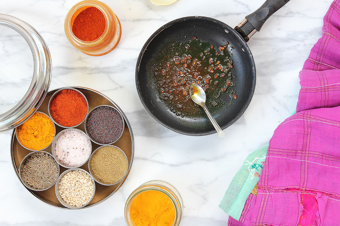 India masala spice dubba, south indian spice preparation