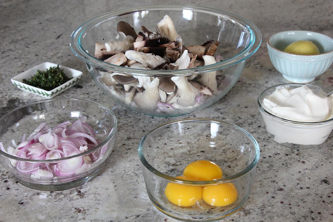 Tartine's Wild Mushroom Tart