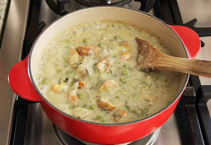 Classic Vegetable Pot Pie