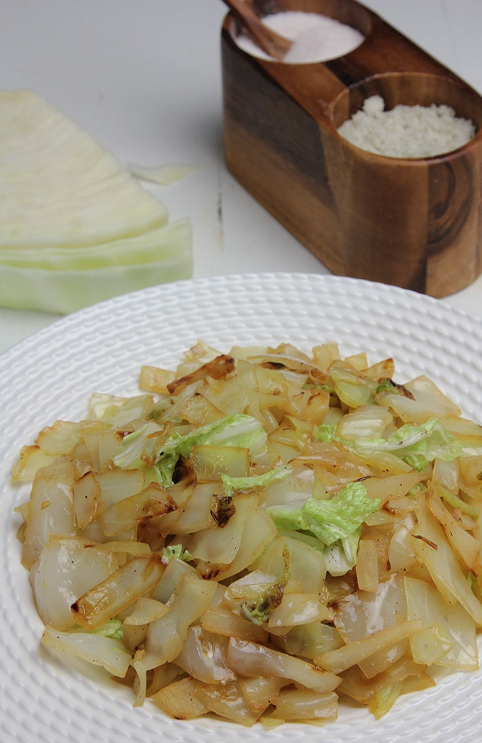 Braised Buttered Cabbage