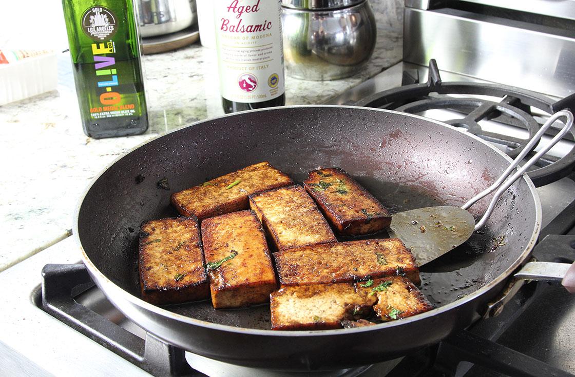 savory tofu