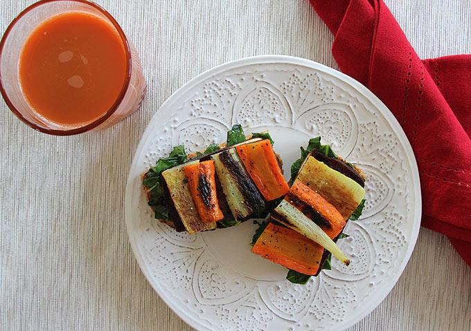 Tofu on Sourdough Lunch Menu