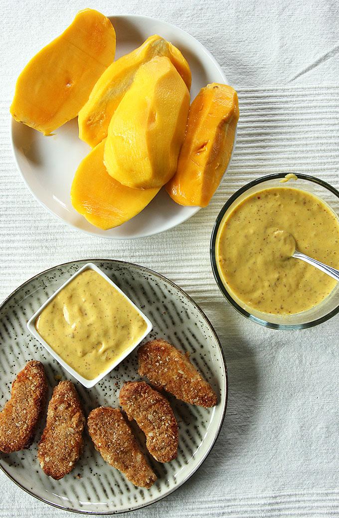 Sweet Mango Mustard Sauce