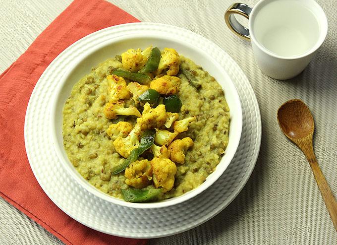 Khichdi and mung bean