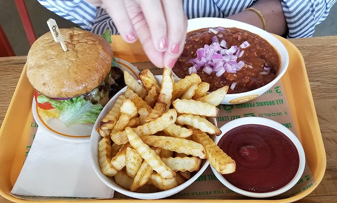foodie experiences next level burger