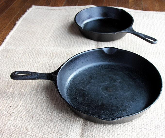 Lodge cast iron skillets
