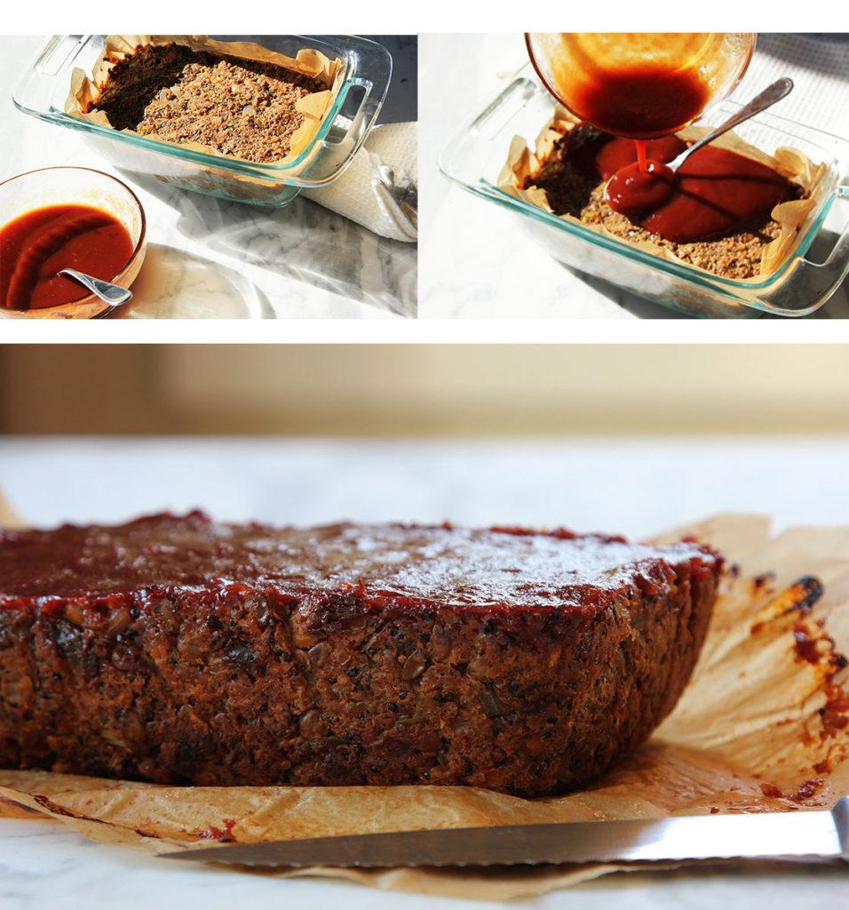 Vegetarian holiday recipes Quinoa lentil loaf