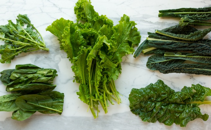 mixed greens for sarson ka saag