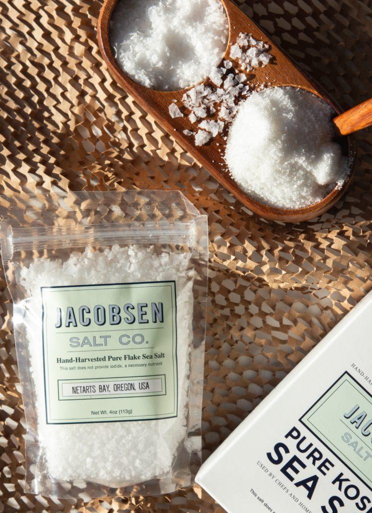 Jacobsen Salt Co. packaged salt