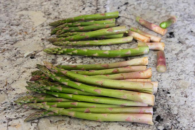 asparagus for roasted asparagus