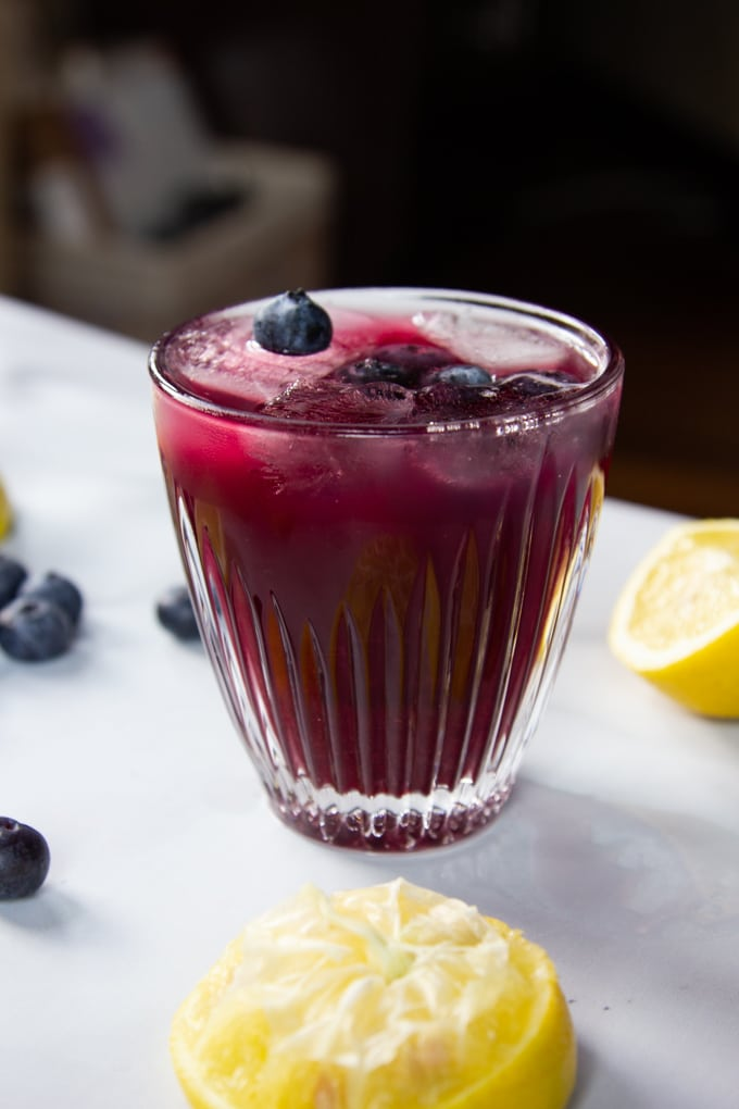 Antioxidant Blueberry-Lemon Green Tea