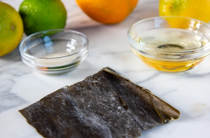 kombu seaweed for ponzu sauce