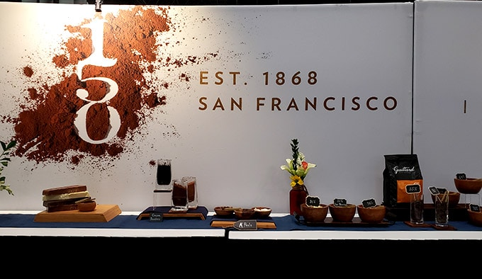 Guittard chocolate at the Summer Fancy Food show