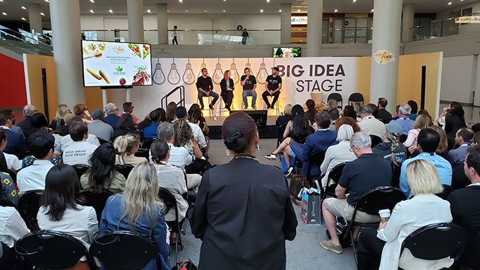The Big Idea Stage at the Fancy Food Show 2019