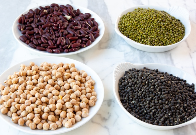 Indian dal and pulses