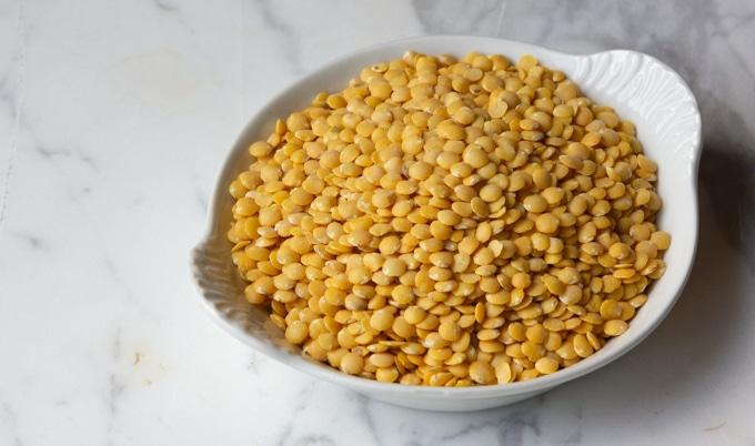 Harvest gold lentils.