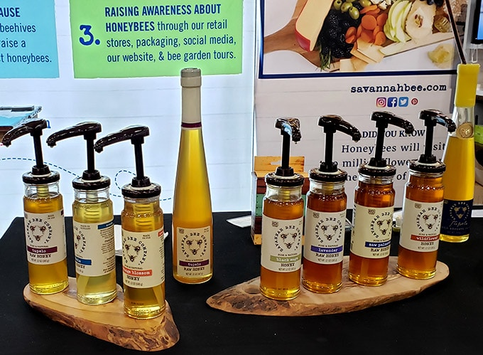 Savannah Bee Company honey at the Fancy food Show 2019
